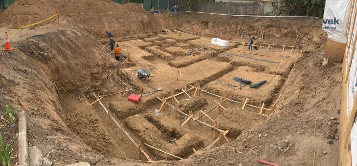 Foundation footings – planning for future efficiency and conservation