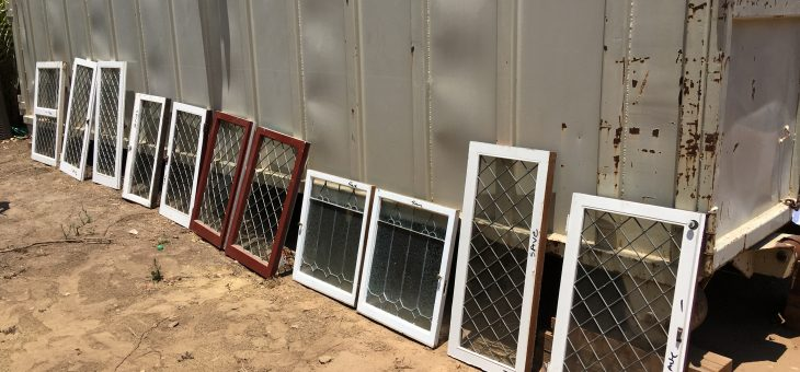 Recycling old leaded glass windows