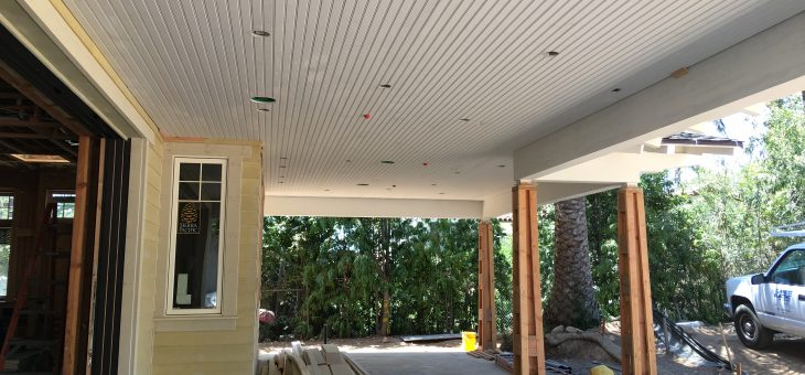 Bead board ceilings