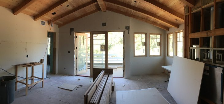 Drywall update – second floor is almost complete
