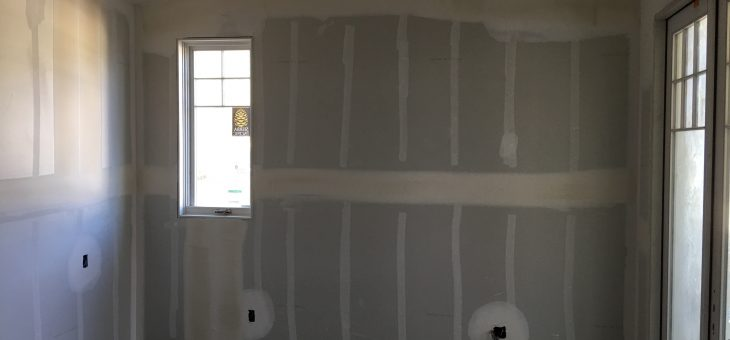 Drywall is going fast