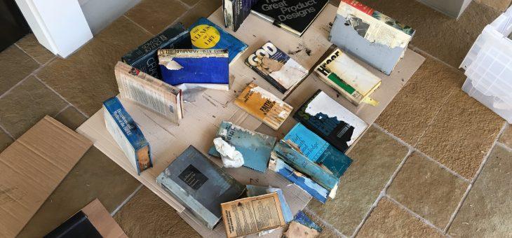 More plumbing leak damage – personal property