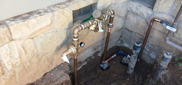 Irrigation water!